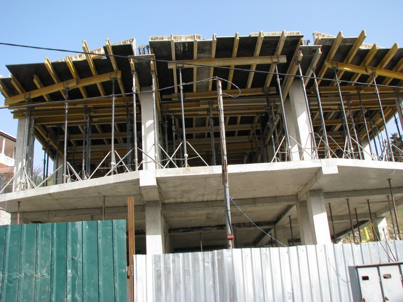 дом в кореиз, строится